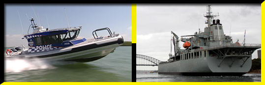 Defence & Law Enforcement Vessels