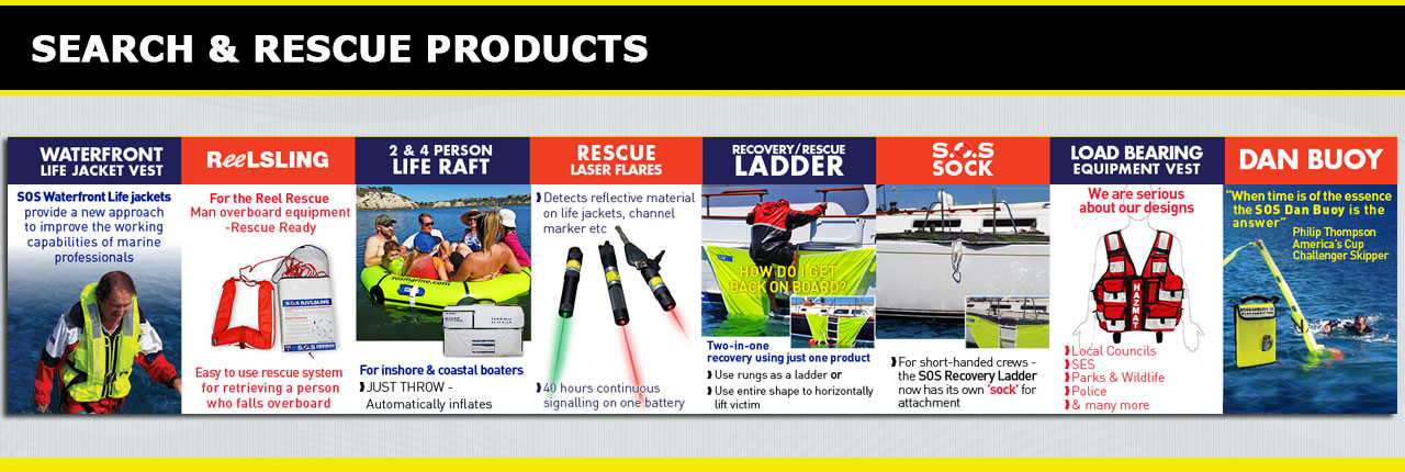 SOS Marine - Search and Rescue Products